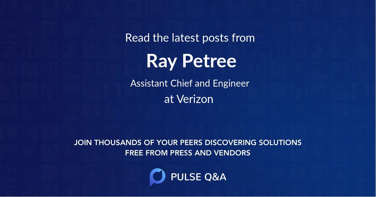 Ray Petree