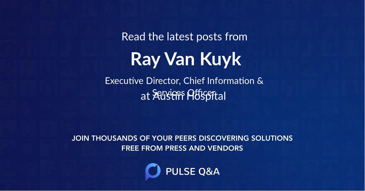 Ray Van Kuyk