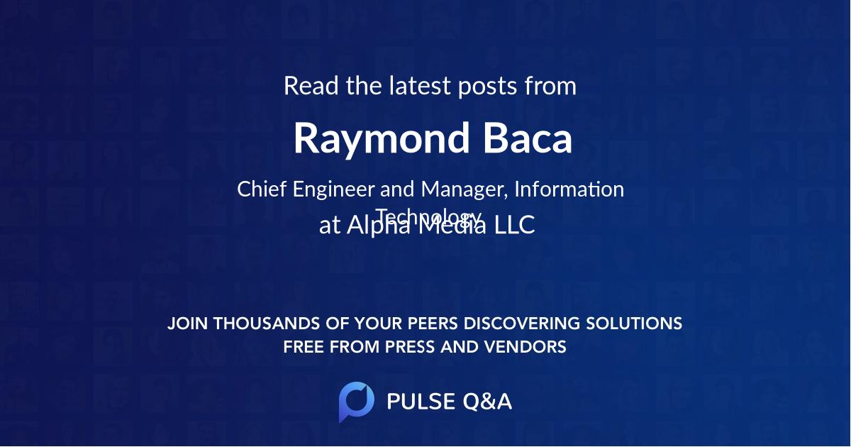 Raymond Baca