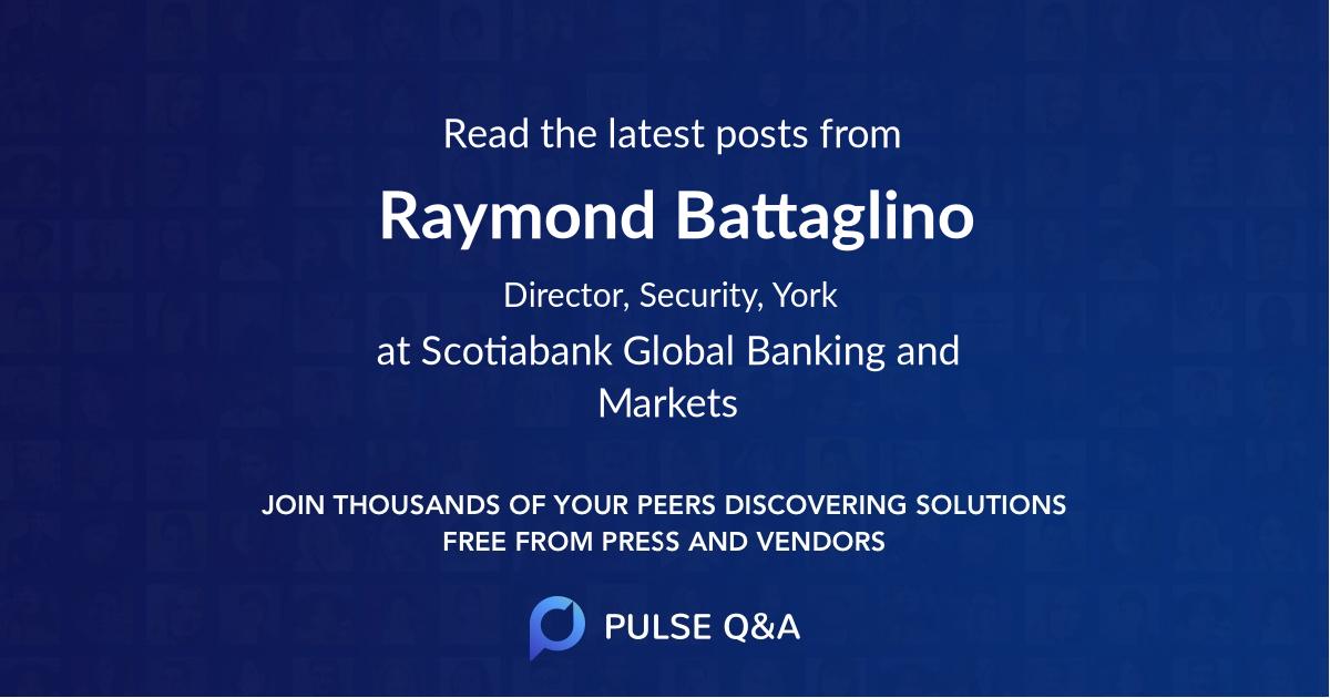 Raymond Battaglino