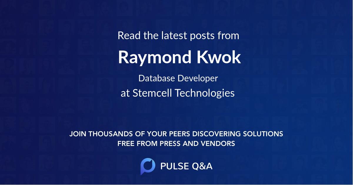 Raymond Kwok