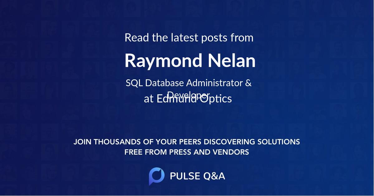 Raymond Nelan