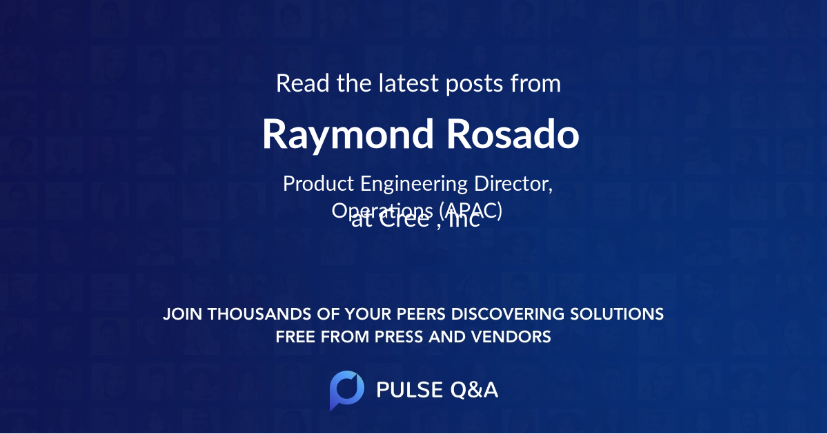 Raymond Rosado