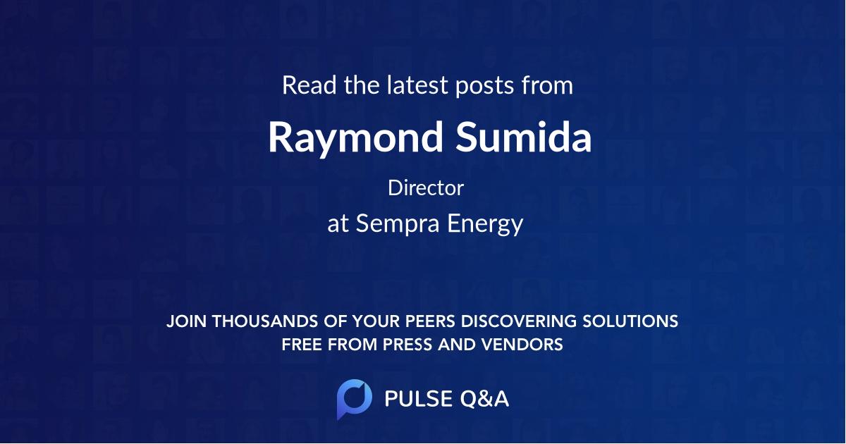 Raymond Sumida