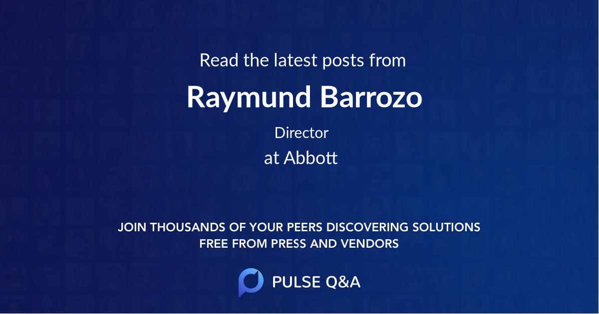 Raymund Barrozo