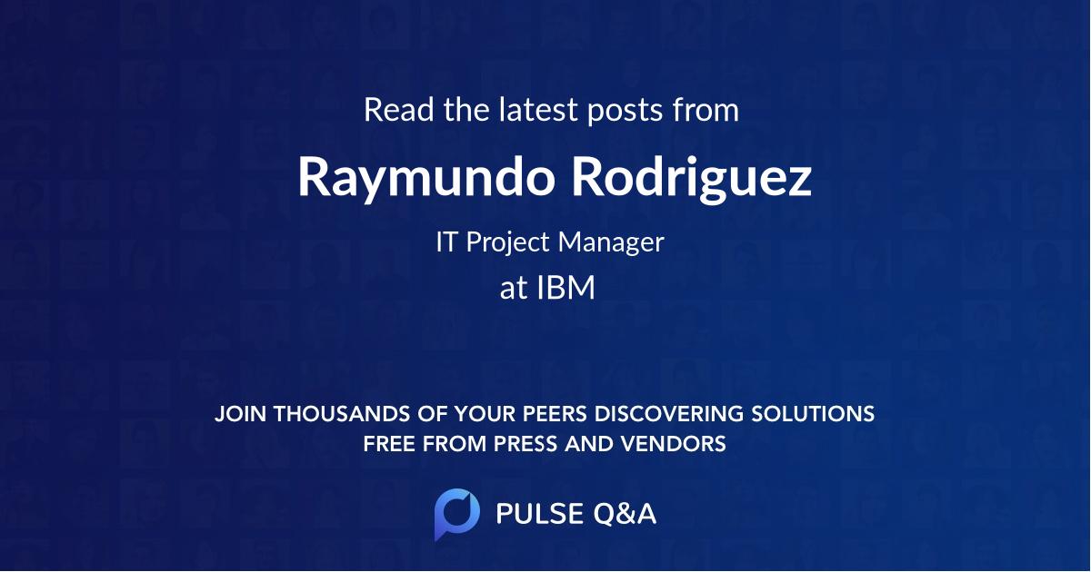 Raymundo Rodriguez
