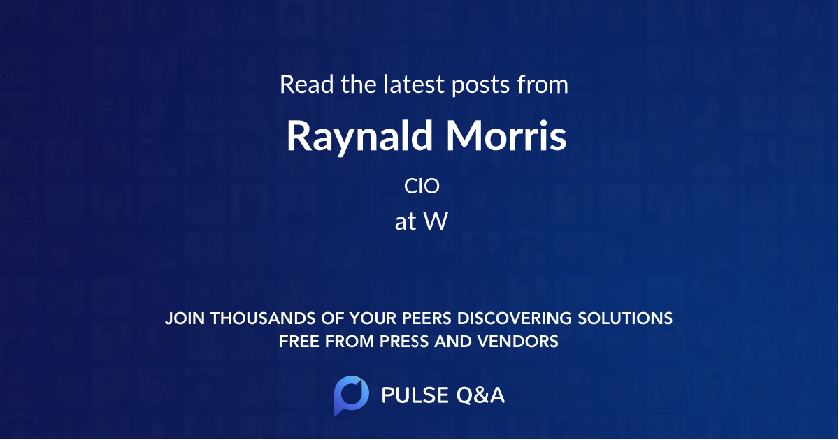 Raynald Morris