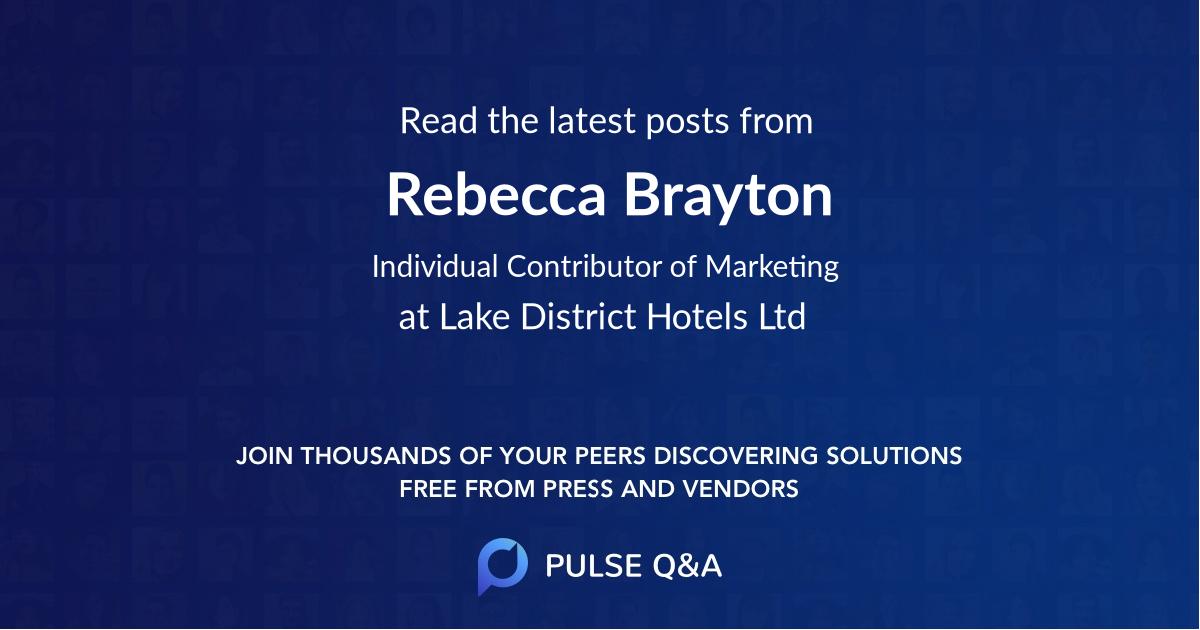 Rebecca Brayton