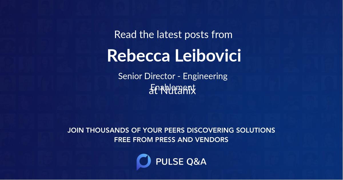 Rebecca Leibovici