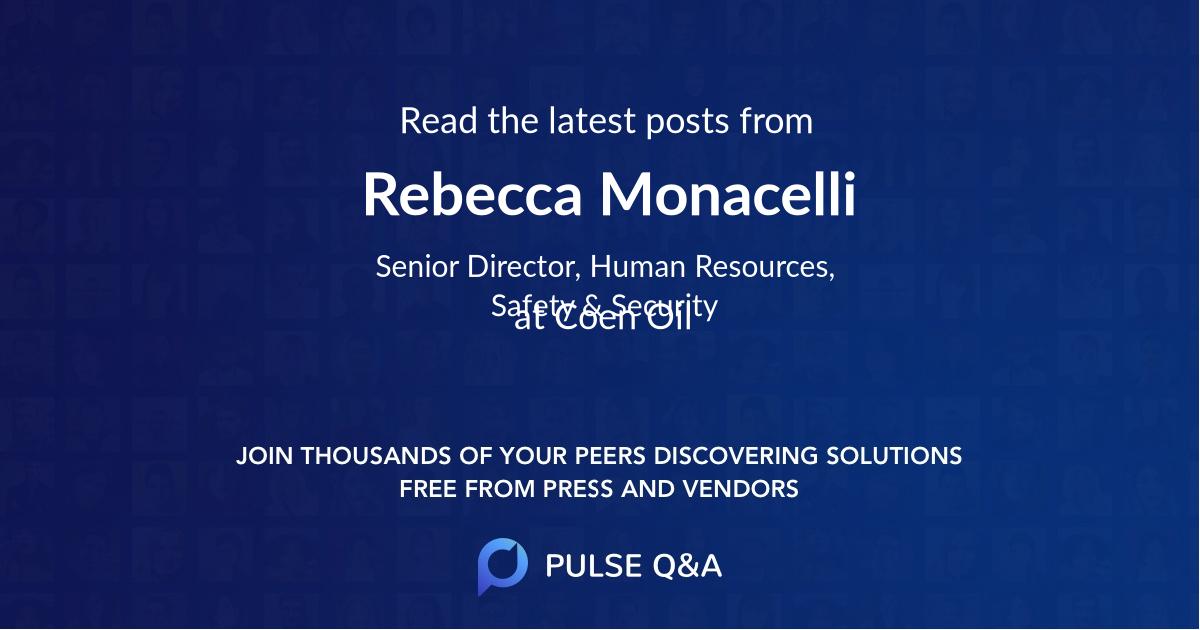 Rebecca Monacelli
