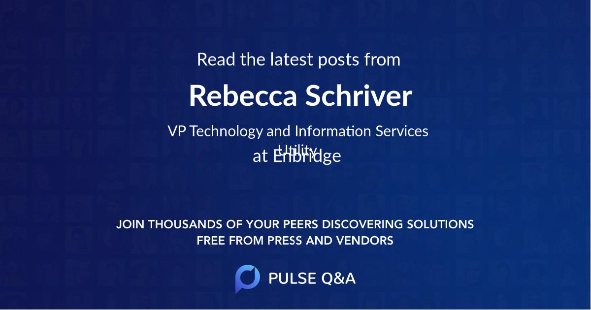 Rebecca Schriver