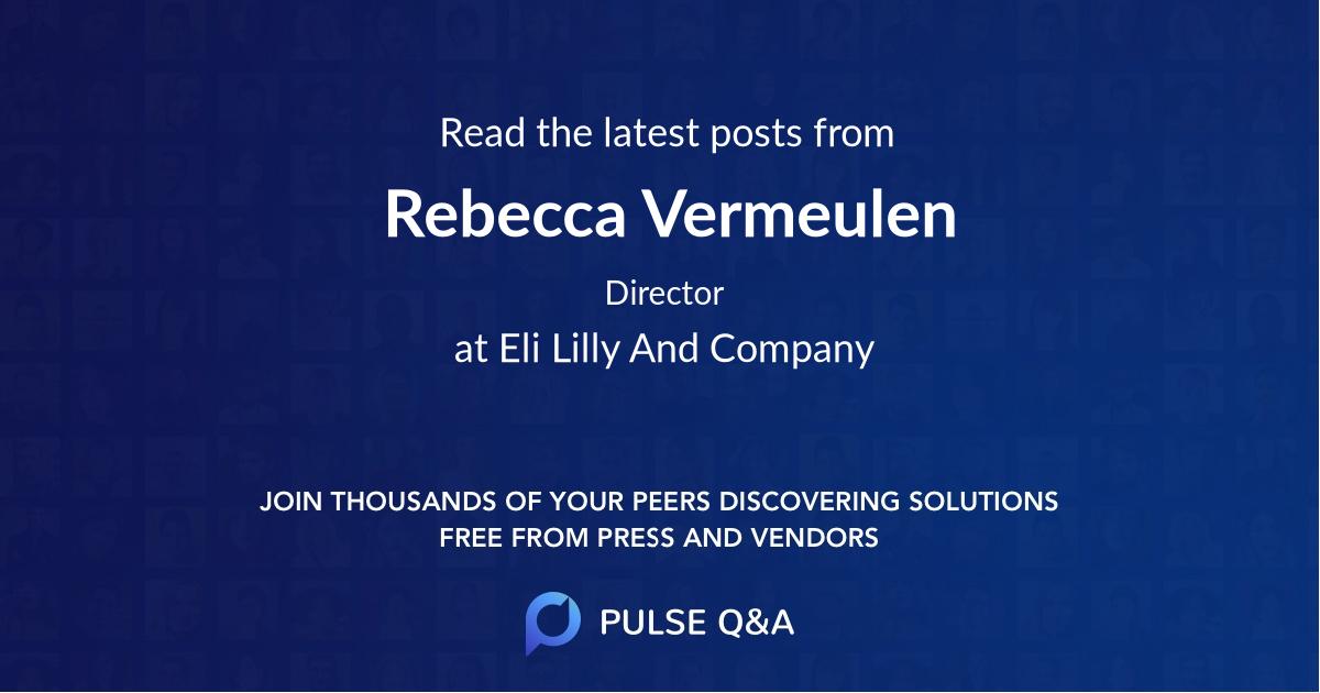 Rebecca Vermeulen