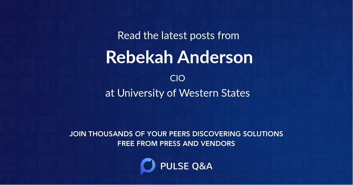 Rebekah Anderson