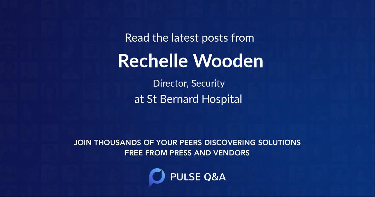 Rechelle Wooden