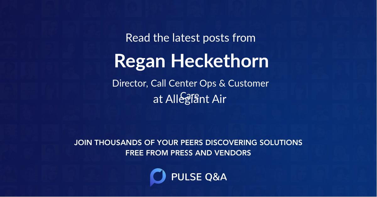 Regan Heckethorn