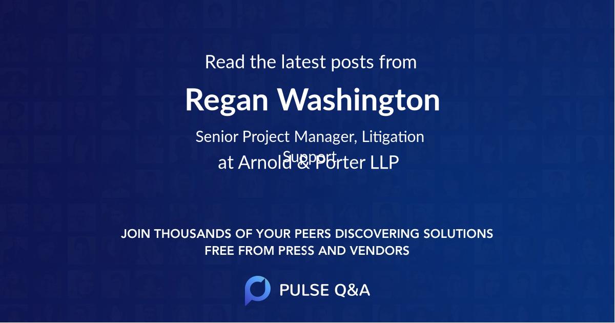 Regan Washington