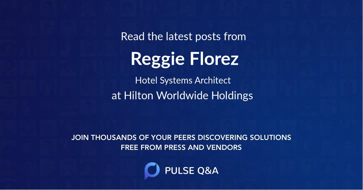 Reggie Florez