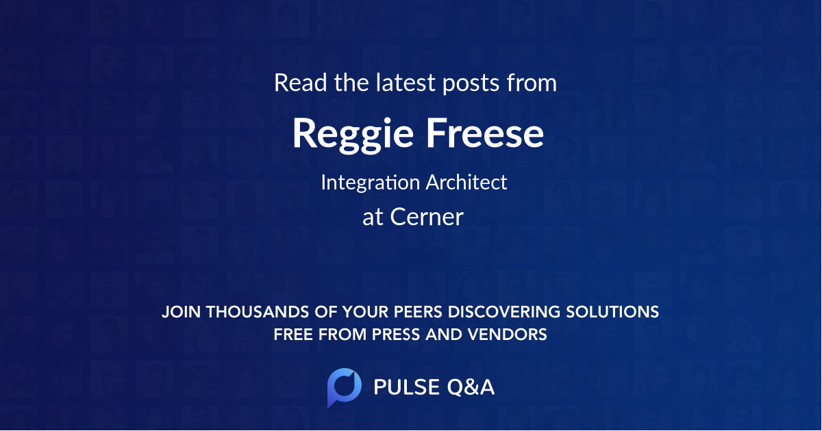 Reggie Freese
