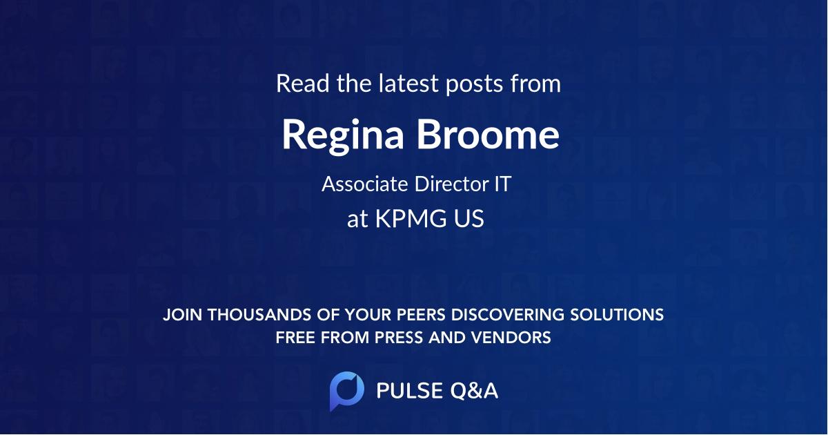 Regina Broome