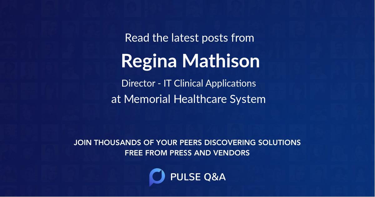 Regina Mathison
