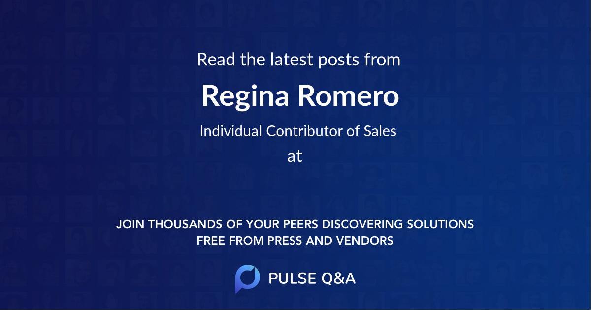 Regina Romero