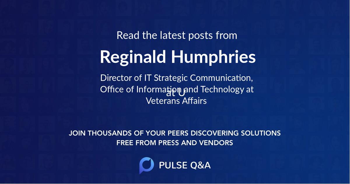 Reginald Humphries