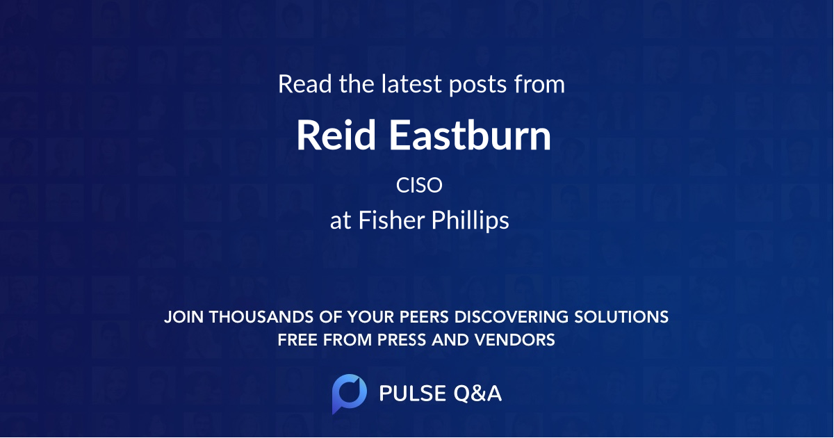 Reid Eastburn