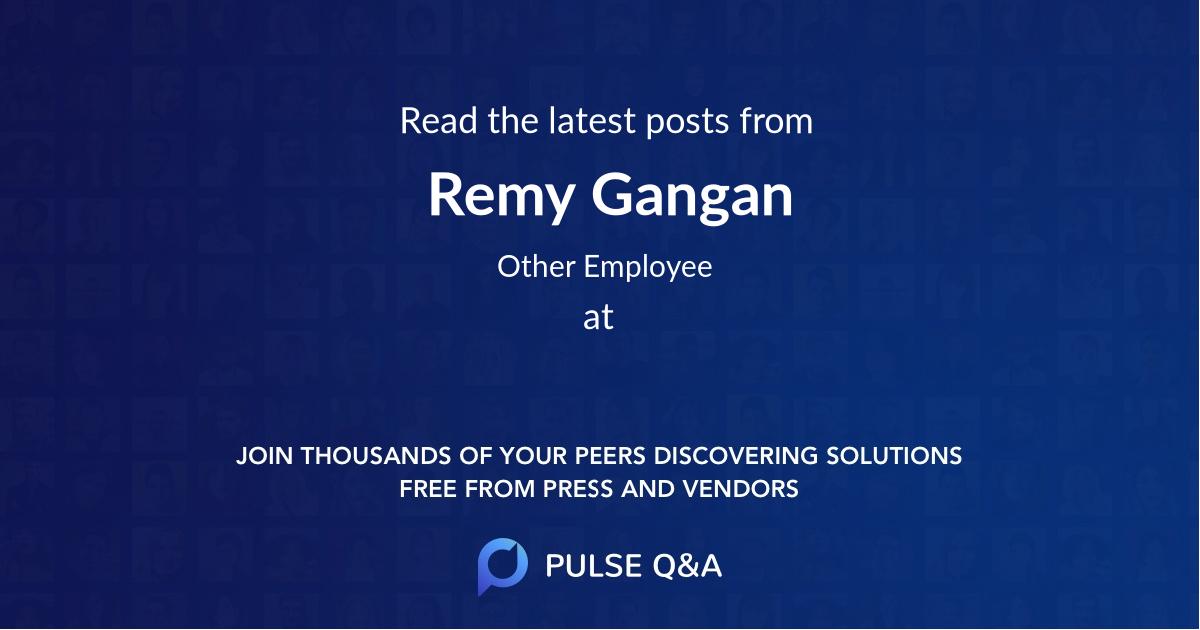 Remy Gangan