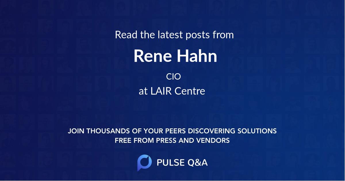 Rene Hahn