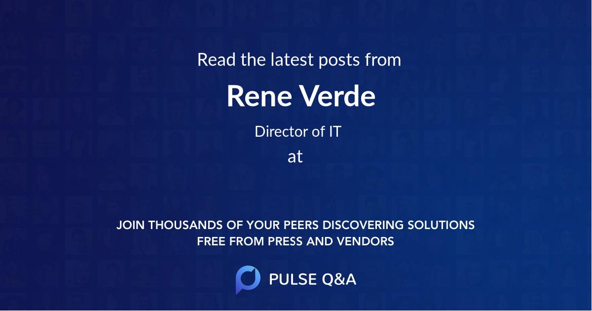 Rene Verde