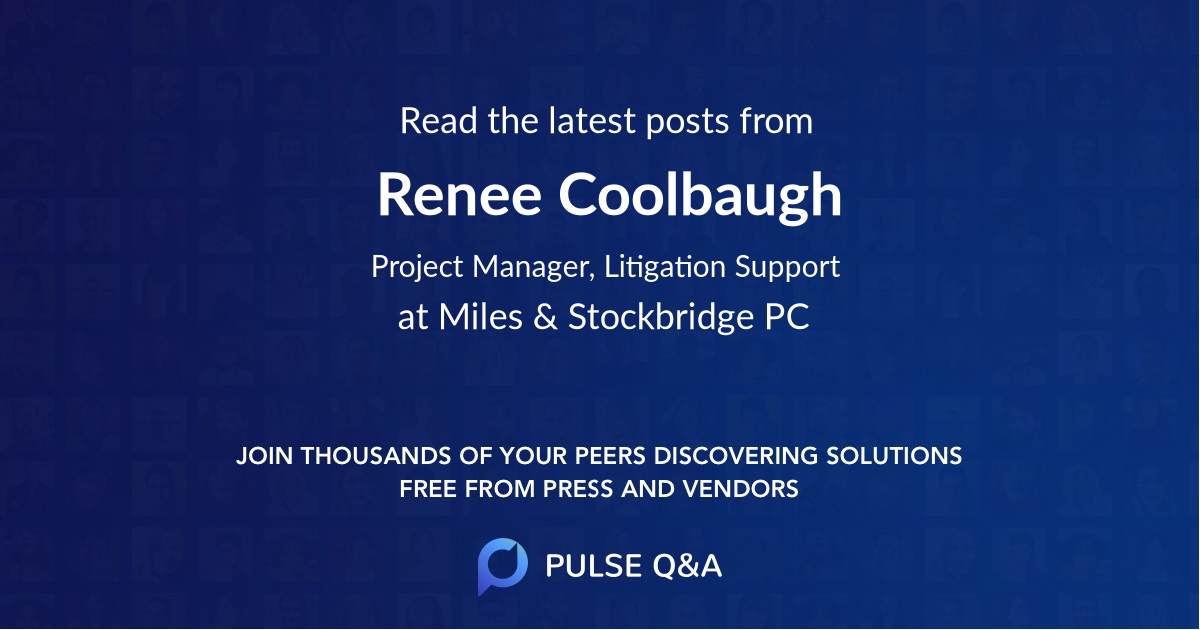 Renee Coolbaugh