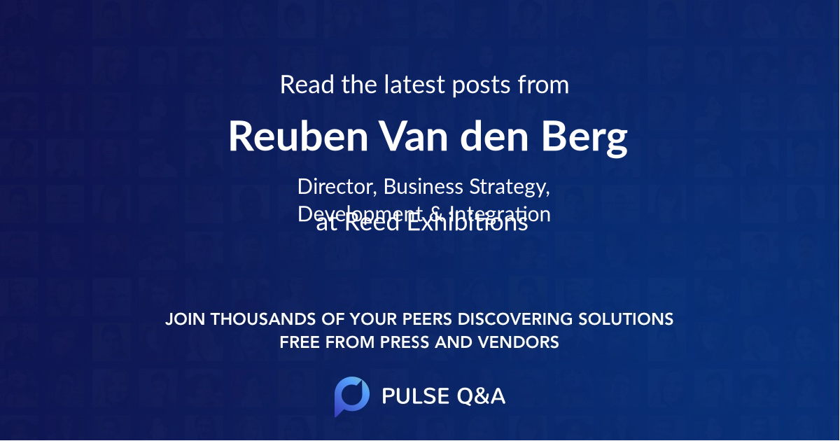Reuben Van den Berg
