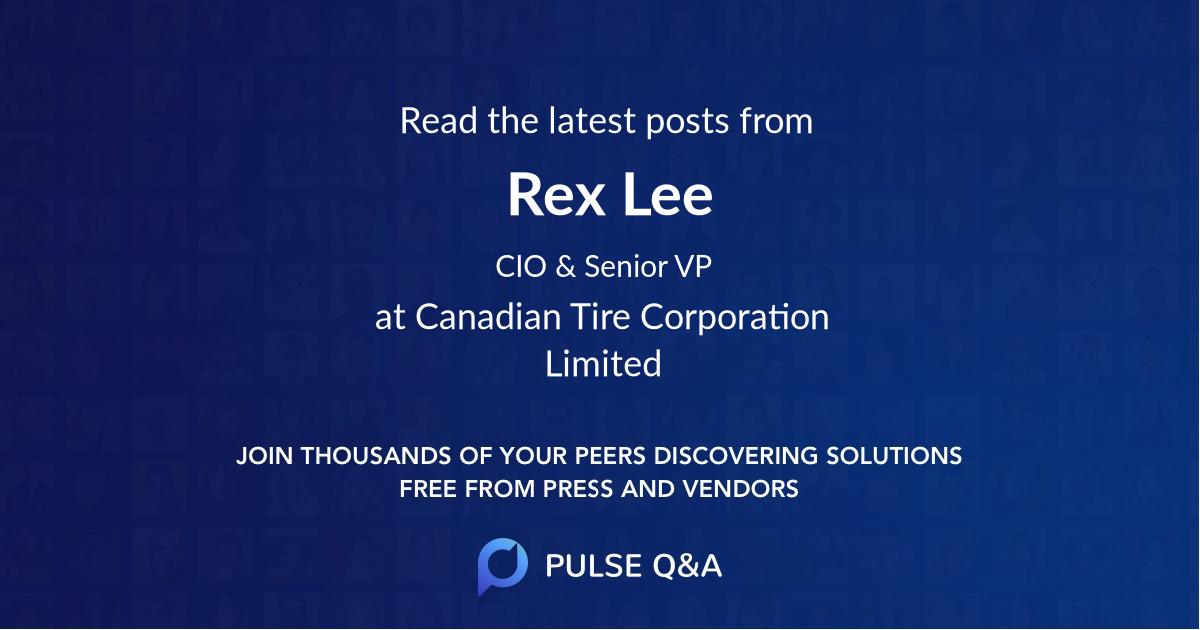 Rex Lee