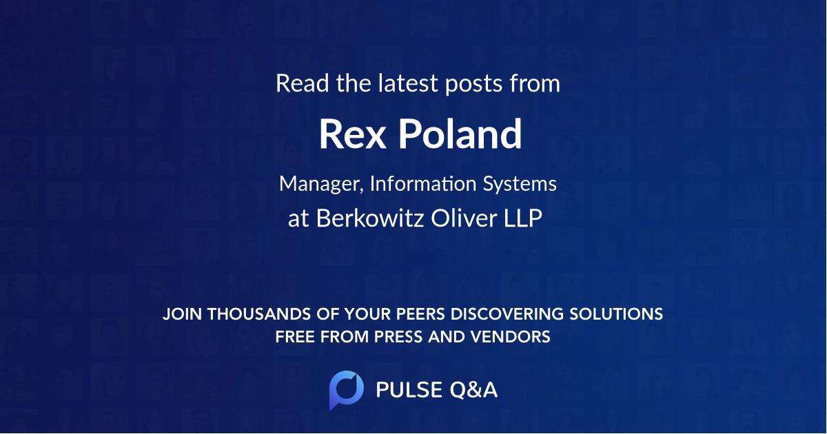Rex Poland