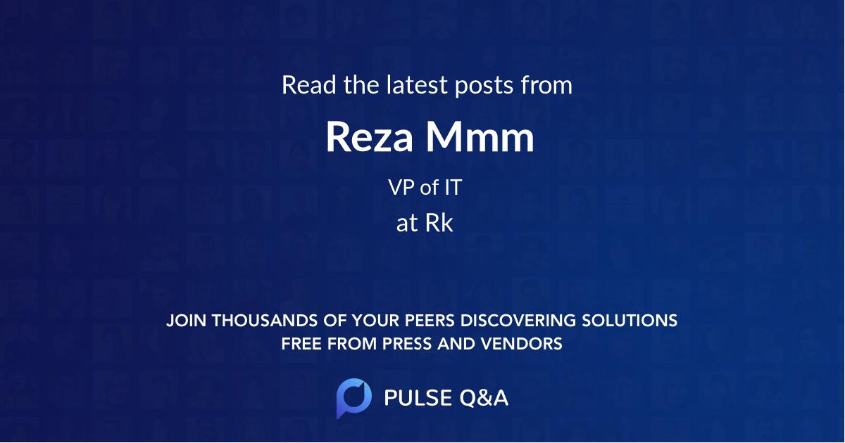 Reza Mmm
