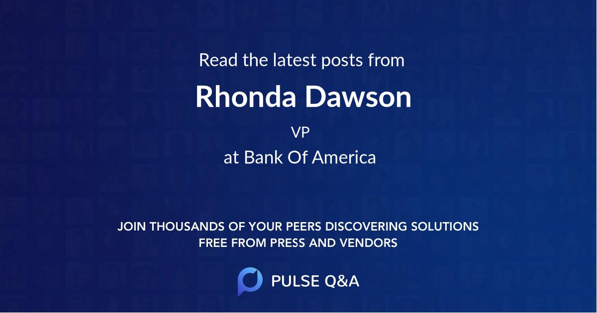 Rhonda Dawson