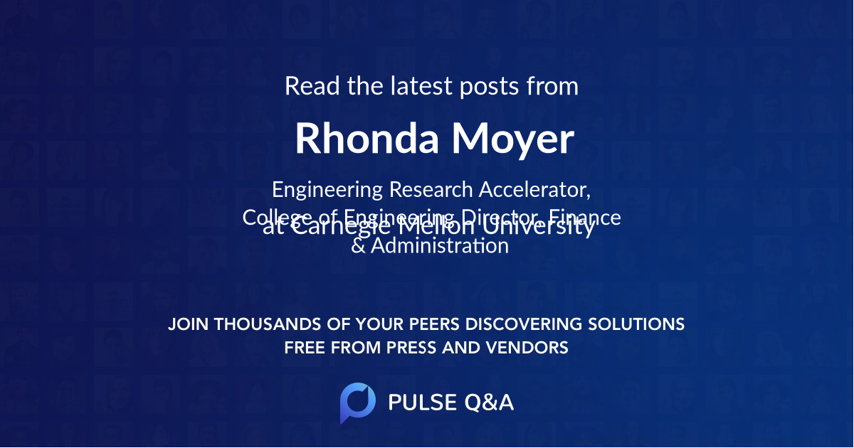 Rhonda Moyer