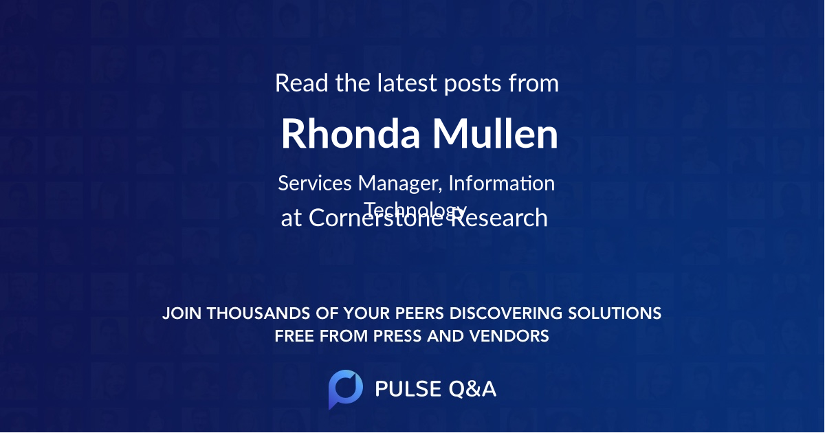 Rhonda Mullen
