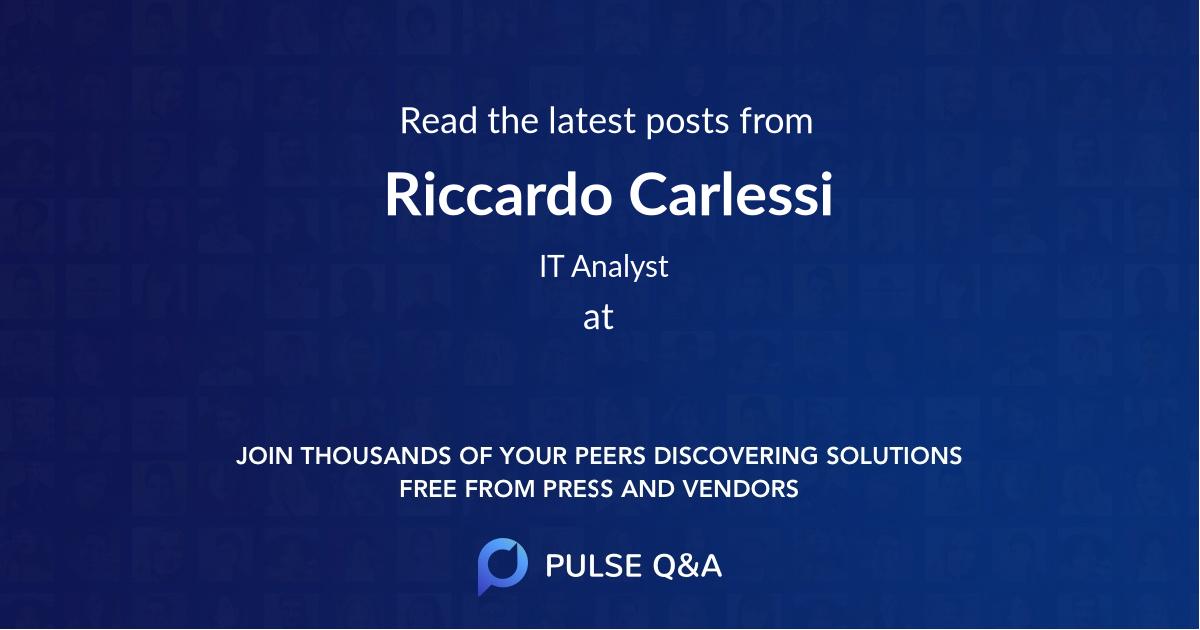 Riccardo Carlessi