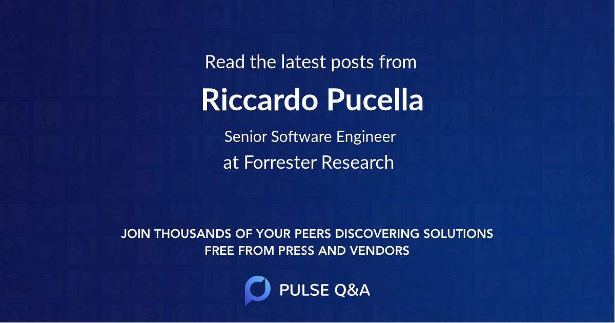 Riccardo Pucella
