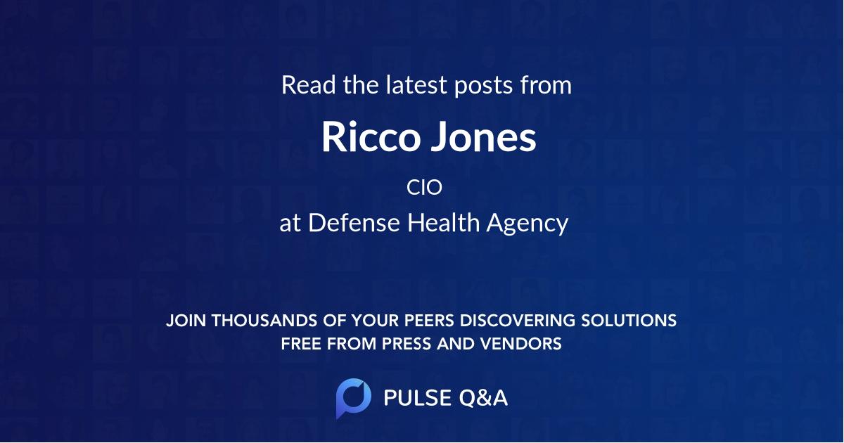 Ricco Jones