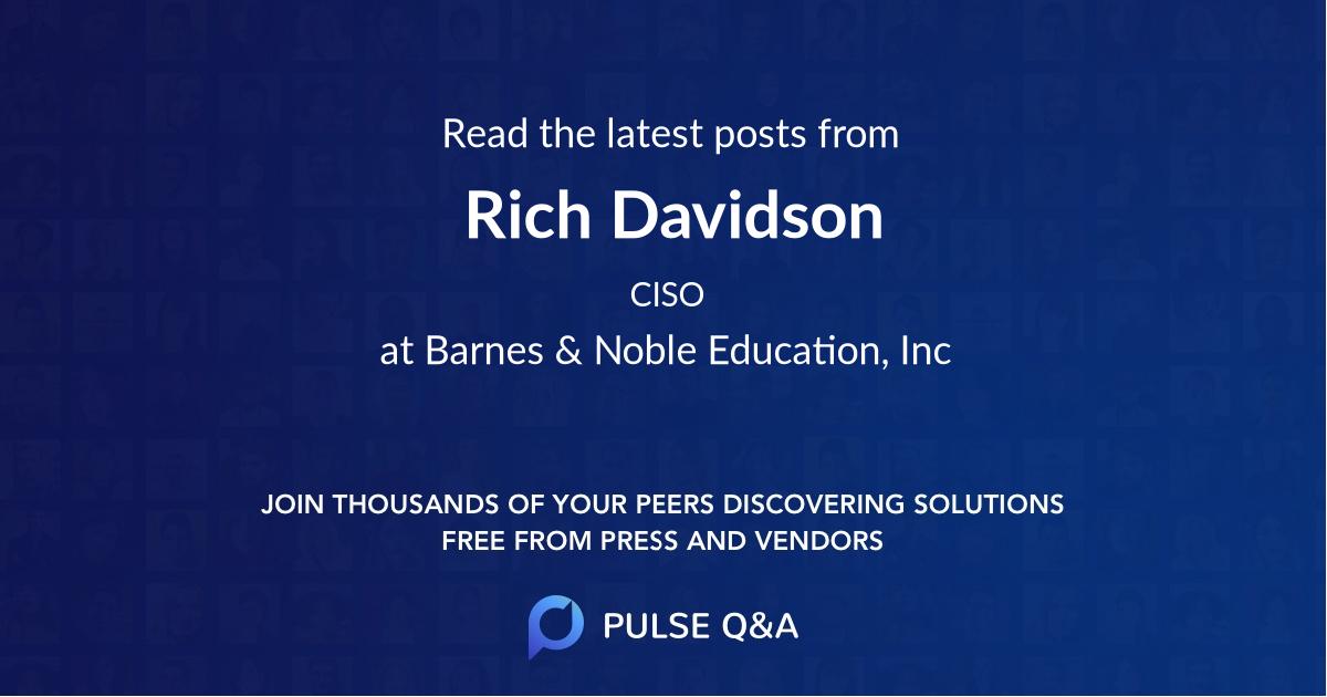 Rich Davidson