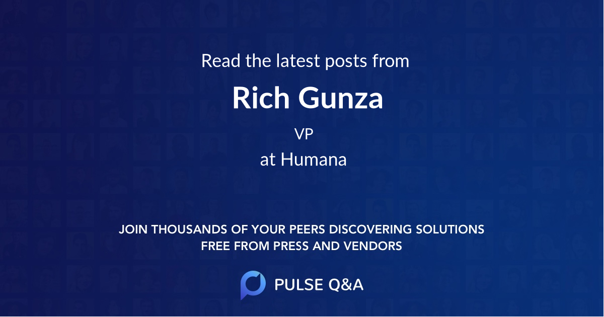 Rich Gunza