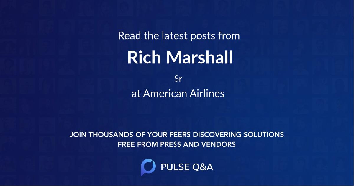 Rich Marshall