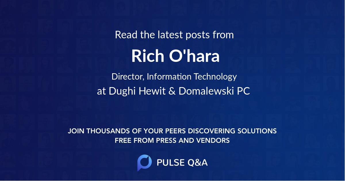 Rich O'hara