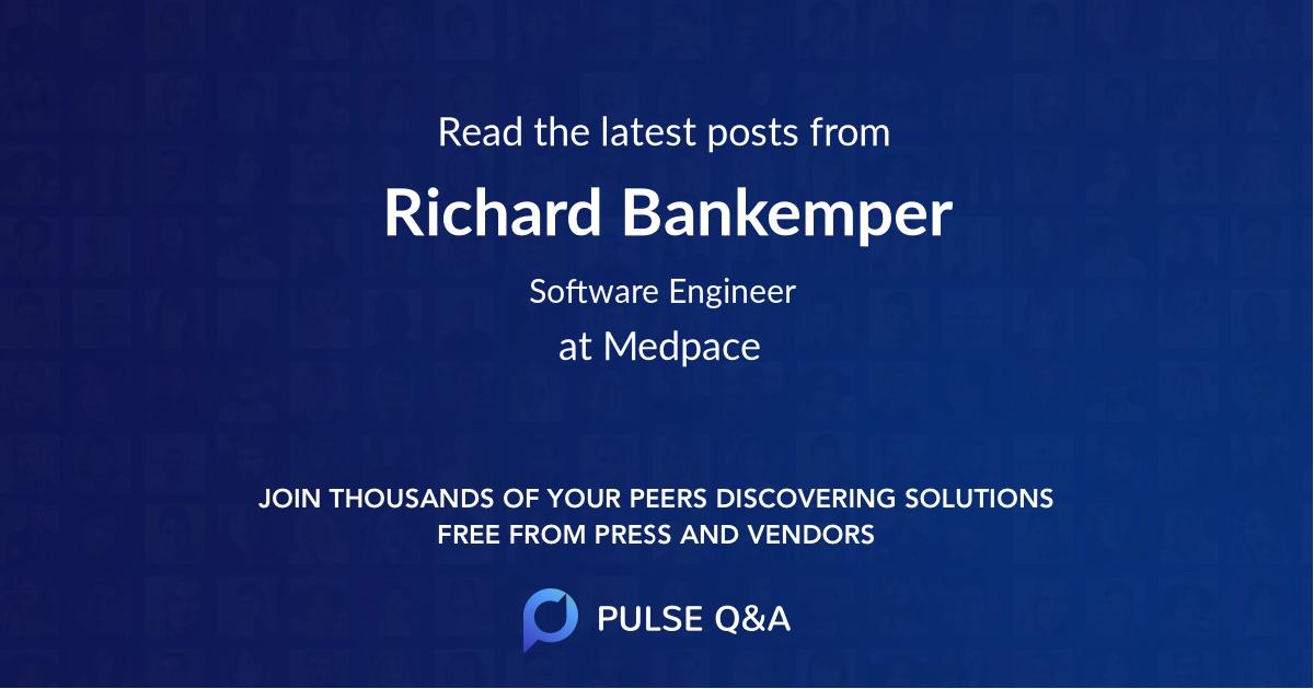 Richard Bankemper