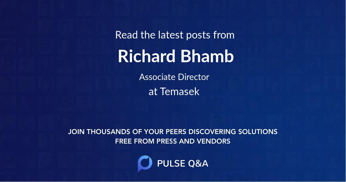 Richard Bhamb
