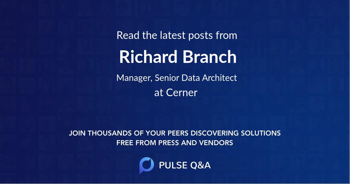 Richard Branch