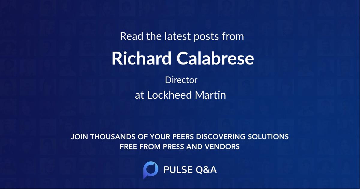 Richard Calabrese