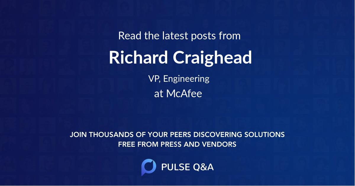Richard Craighead
